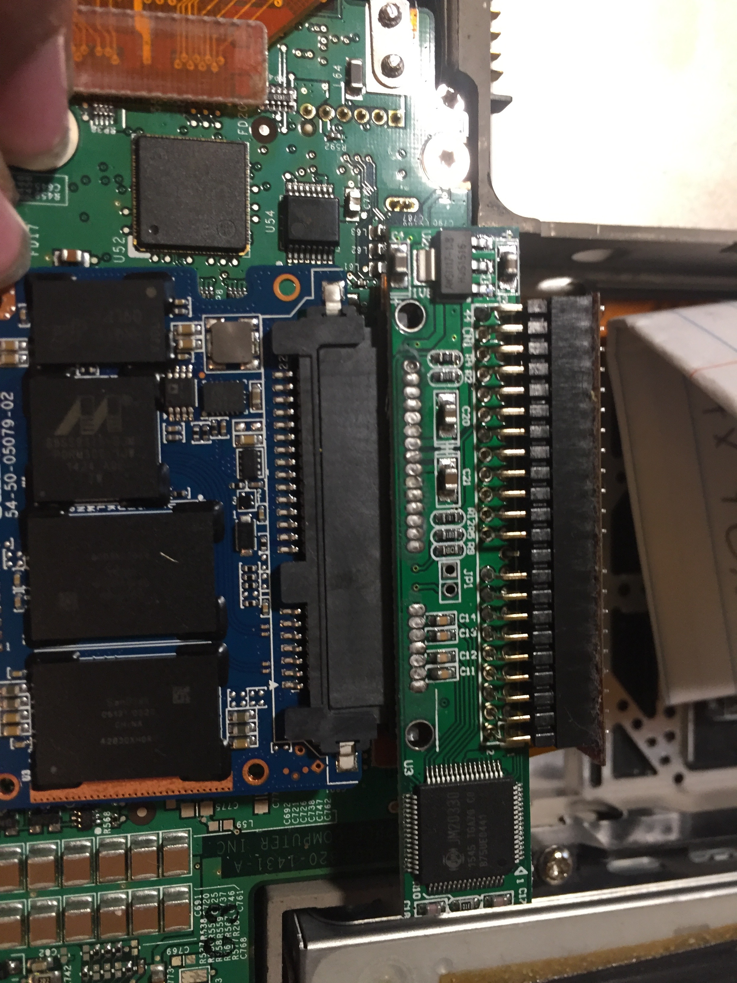 the SSD